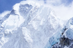 Vistas de la montaña, Nepal, Everest, 19000ft+ Fotos de archivo libres de regalías
