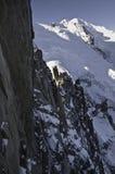 Vistas de Mont-Blanc Imagem de Stock