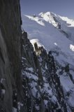 Vistas de Montblanc Imagen de archivo