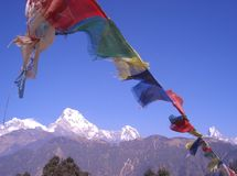 Vistas de Nepal 2 Foto de archivo
