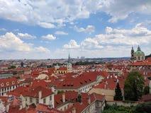 Vistas de Praga fotografía de archivo