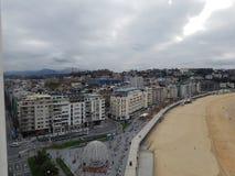 Vistas de San Sebastian imagem de stock royalty free