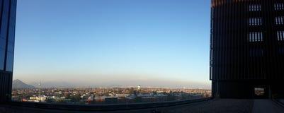 Vistas de Santiago Foto de archivo libre de regalías