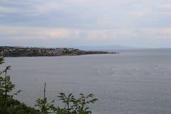 Vistas de Sozopol, año 1014 fotos de archivo libres de regalías
