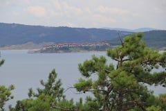 Vistas de Sozopol, año 1014 imagen de archivo