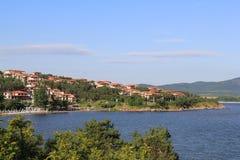 Vistas de Sozopol, año 1014 foto de archivo