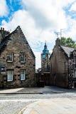 Vistas de Stirling e de monumentos a Robert o Bruce e o William foto de stock royalty free