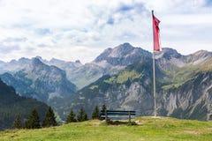 Vistas de Suiza Fotografía de archivo libre de regalías