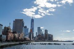 Vistas del distrito financiero de Tribeca (NYC) Fotografía de archivo