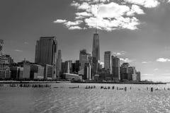 Vistas del distrito financiero de Tribeca (NYC) Fotos de archivo