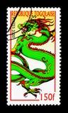 Vistas del dragón, año del serie del dragón, circa 2000 Fotografía de archivo