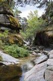 Vistas del río Eresma Fotografía de archivo