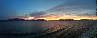 Vistas do Alasca imagens de stock