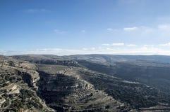 Vistas do castelo de ares del maestre Fotografia de Stock Royalty Free