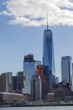 Vistas do distrito financeiro de Tribeca (NYC) foto de stock