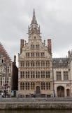 Vistas do Ghent do centro hist?rico Imagem de Stock
