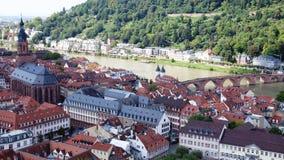 vistas do Rhine River e ao redor Imagens de Stock