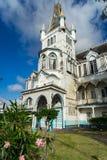 Vistas em torno de Georgetown, Guiana foto de stock