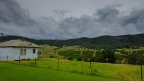 Vistas em torno de Millfield e de Cessnock em Hunter Valley, NSW, Austr?lia foto de stock royalty free