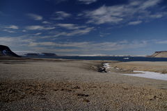 Vistas em torno de Svalbard Foto de Stock Royalty Free