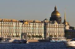 Vistas en St Petersburg Imagen de archivo libre de regalías