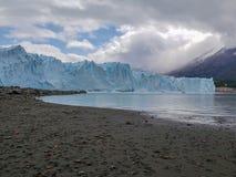 Vistas escénicas de Glaciar Perito Moreno, EL Calafate, la Argentina fotografía de archivo libre de regalías