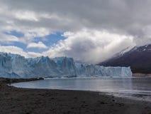 Vistas escénicas de Glaciar Perito Moreno, EL Calafate, la Argentina imágenes de archivo libres de regalías