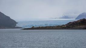 Vistas escénicas de Glaciar Perito Moreno, EL Calafate, la Argentina imagen de archivo