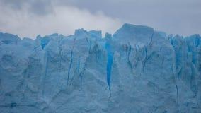 Vistas escénicas de Glaciar Perito Moreno, EL Calafate, la Argentina foto de archivo