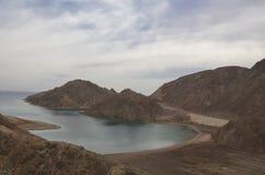 Vistas fantásticas da baía em Egito Imagem de Stock