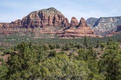 Vistas hermosos de Sedona Arizona Fotos de archivo