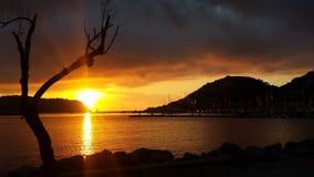 Vistas impressionantes do mar meditteranean foto de stock royalty free