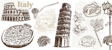 Vistas Italia Fotos de archivo libres de regalías