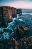 Vistas surpreendentes em Arrifana Fotografia de Stock