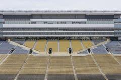 Viste aeree di Ross-Ade Stadium On The Campus del Purdue University fotografia stock