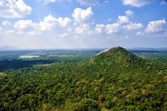 Viste alla cima di Sigiriya Immagine Stock