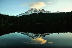 Viste alpine Fotografie Stock