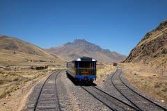 Viste dal treno andino dell'esploratore Fotografia Stock Libera da Diritti