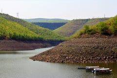 Viste dei laghi e beauty' s del mondo delle nature da viaggiare per i rilassamenti immagine stock libera da diritti