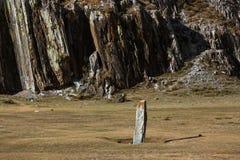 Viste dei paesaggi della Repubblica di Altai delle montagne Fotografia Stock