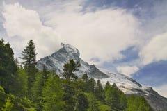 Viste del Cervino - alpi svizzere Immagini Stock