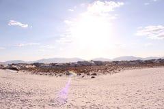 Viste del deserto Immagini Stock