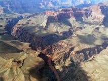 Viste del grande canyon Immagini Stock Libere da Diritti