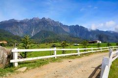Viste del Monte Kinabalu Fotografia Stock Libera da Diritti