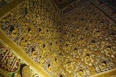 Viste del palazzo di alcazar a Sevilla Immagine Stock Libera da Diritti