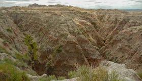 Viste del parco nazionale dei calanchi immagini stock libere da diritti