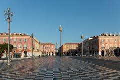 Viste del posto Massena Il quadrato è situato nel centro urbano Fotografia Stock Libera da Diritti