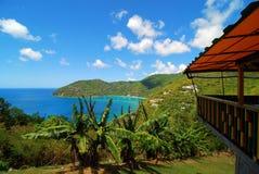 Viste dell'isola vergine Immagini Stock