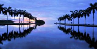 Viste dell'isola vergine Immagine Stock
