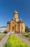 Viste della chiesa ortodossa dell'arcangelo Michael Immagine Stock